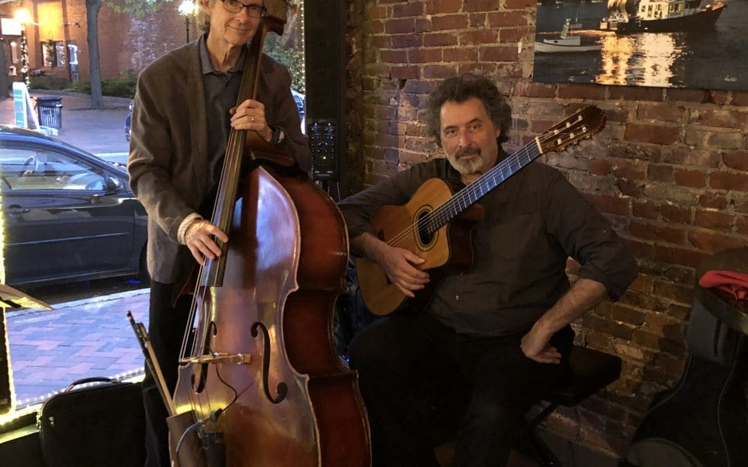 John Tavano and Roger Kimball in concert